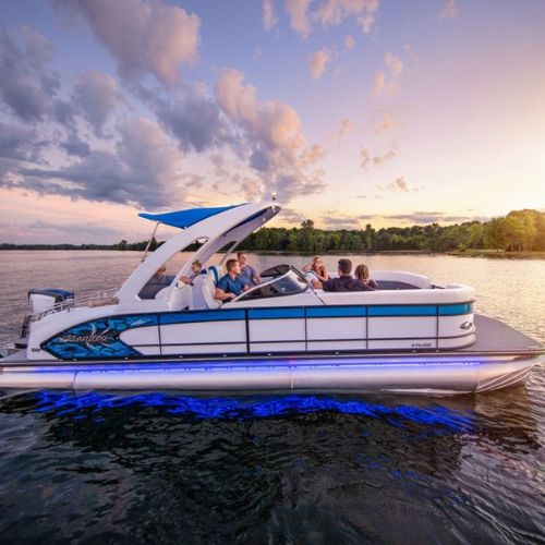 Lake Travis Pontoon Boat Rentals
